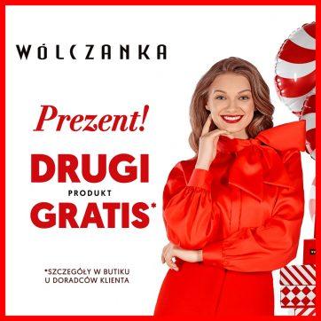 Prezent od Wólczanki: DRUGI produkt GRATIS!