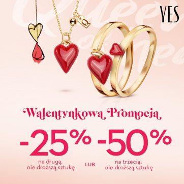 Walentynkowa Promocja w YES!