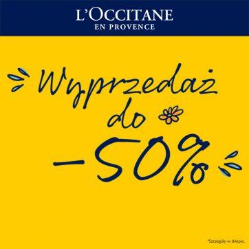 L'OCCITANE wyprzedaż -50%