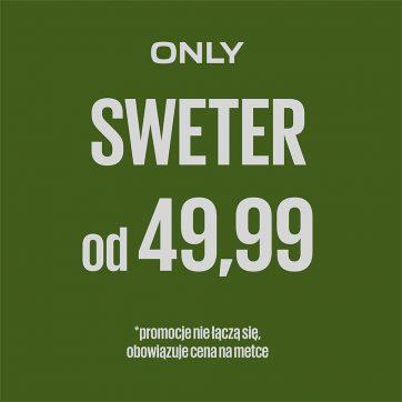Sweter od 49,99