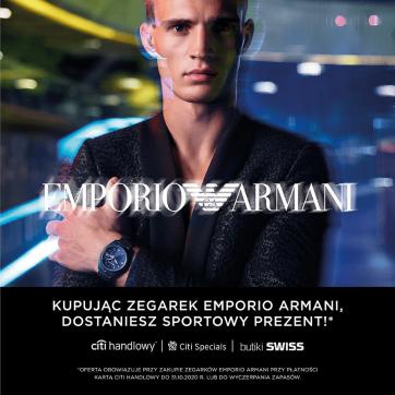 Wyjątkowa propozycja Emporio Armani