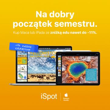 Back to School w iSpot – Ostatni dzwonek!