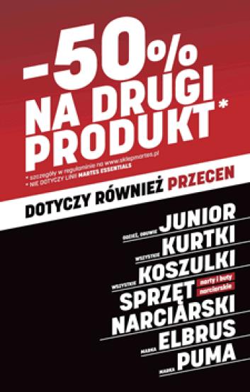 -50% NA DRUGI PRODUKT*