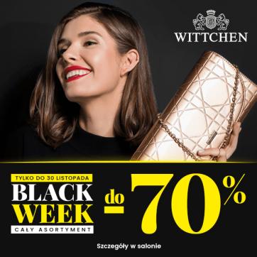 BLACK WEEK RABATY DO -70%
