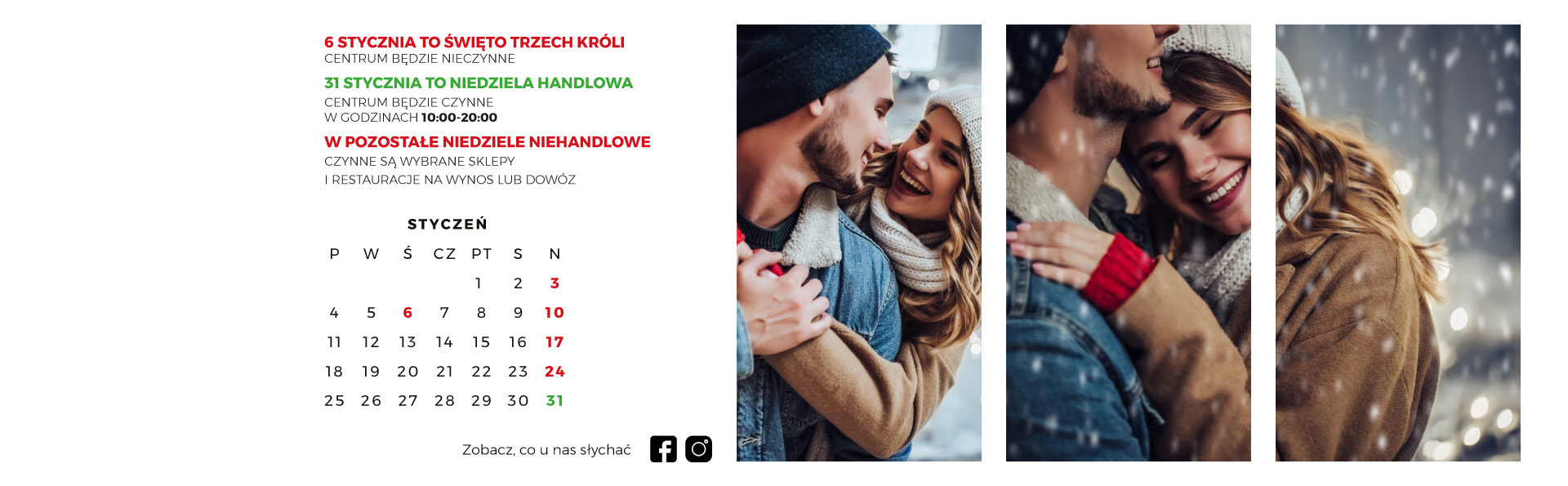 Kalendarz styczeń
