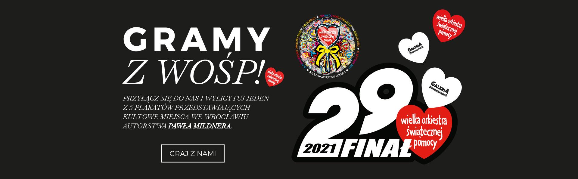 Gramy z WOŚP! Wylicytuj plakaty z ilustracjami Wrocławia!
