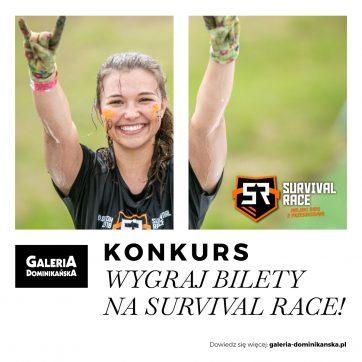 Galeria Dominikańska partnerem VII Survival Race we Wrocławiu! Wygraj bilety!