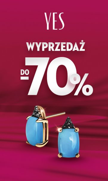 Wyprzedaż do -70% w Salonie YES!