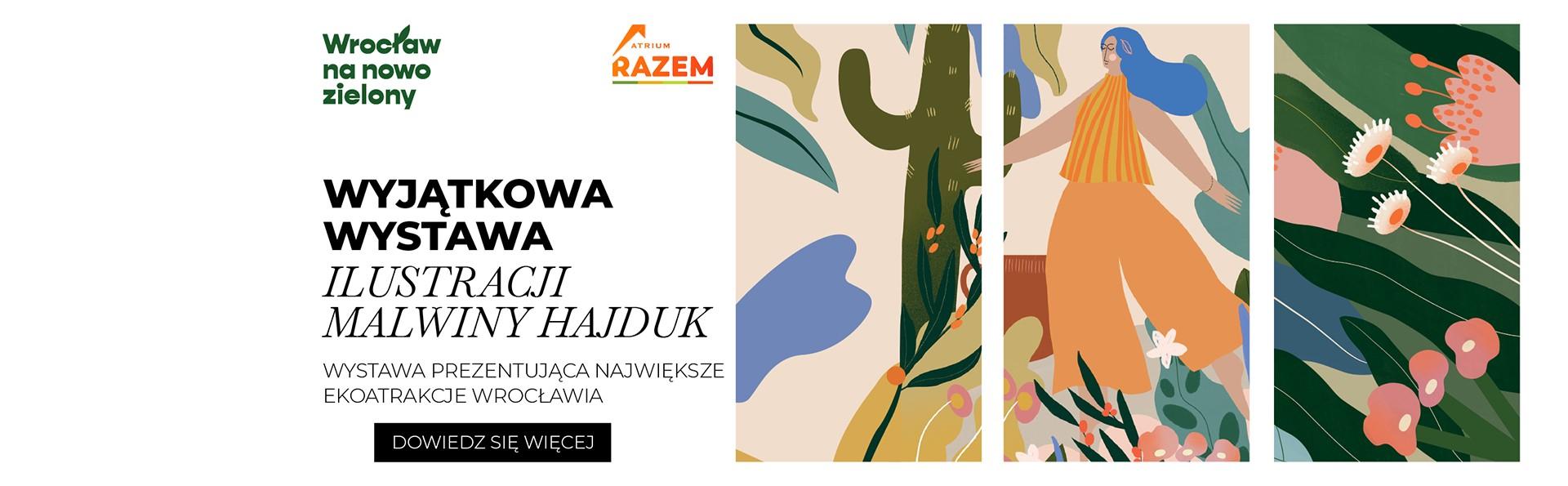 Wystawa ilustracji Malwiny Hajduk